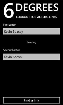 Six Degrees For Windows Phone Lets You Conveniently Link Two Actors